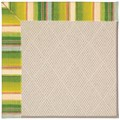 Capel Rugs Creative Concepts White Wicker - Kalani Fresco (239) Octagon 4