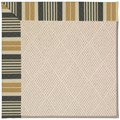 Capel Rugs Creative Concepts White Wicker - Long Hill Ebony (340) Octagon 4
