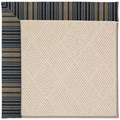 Capel Rugs Creative Concepts White Wicker - Vera Cruz Ocean (445) Octagon 6