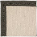 Capel Rugs Creative Concepts White Wicker - Fortune Lava (394) Octagon 8