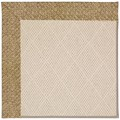 Capel Rugs Creative Concepts White Wicker - Tampico Rattan (716) Octagon 8