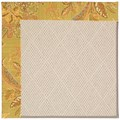 Capel Rugs Creative Concepts White Wicker - Cayo Vista Tea Leaf (210) Octagon 10