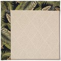 Capel Rugs Creative Concepts White Wicker - Bahamian Breeze Coal (325) Octagon 10