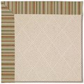 Capel Rugs Creative Concepts White Wicker - Dorsett Autumn (714) Octagon 10