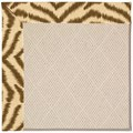 Capel Rugs Creative Concepts White Wicker - Couture King Chestnut (756) Octagon 10