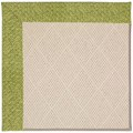 Capel Rugs Creative Concepts White Wicker - Tampico Palm (226) Octagon 12
