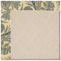 Capel Rugs Creative Concepts White Wicker - Cayo Vista Ocean (425) Octagon 12