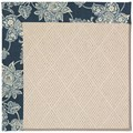 Capel Rugs Creative Concepts White Wicker - Bandana Indigo (465) Runner 2