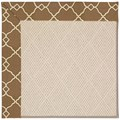 Capel Rugs Creative Concepts White Wicker - Arden Chocolate (746) Runner 2
