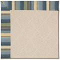 Capel Rugs Creative Concepts White Wicker - Kalani Ocean (417) Rectangle 3