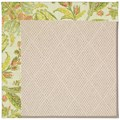 Capel Rugs Creative Concepts White Wicker - Cayo Vista Mojito (215) Rectangle 4