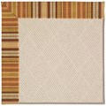 Capel Rugs Creative Concepts White Wicker - Vera Cruz Samba (735) Rectangle 4