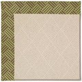 Capel Rugs Creative Concepts White Wicker - Dream Weaver Marsh (211) Rectangle 6