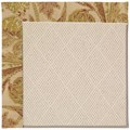 Capel Rugs Creative Concepts White Wicker - Cayo Vista Sand (710) Rectangle 7