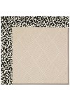 Capel Rugs Creative Concepts White Wicker - Coral Cascade Ebony (385) Rectangle 8' x 10' Area Rug