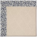 Capel Rugs Creative Concepts White Wicker - Coral Cascade Navy (450) Rectangle 8