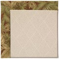 Capel Rugs Creative Concepts White Wicker - Bahamian Breeze Cinnamon (875) Rectangle 10