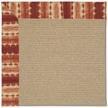 Capel Rugs Creative Concepts Sisal - Java Journey Henna (580) Octagon 4
