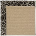 Capel Rugs Creative Concepts Sisal - Wild Thing Onyx (396) Octagon 6