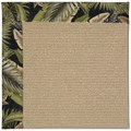 Capel Rugs Creative Concepts Sisal - Bahamian Breeze Coal (325) Octagon 10
