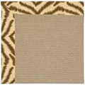 Capel Rugs Creative Concepts Sisal - Couture King Chestnut (756) Octagon 10