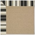 Capel Rugs Creative Concepts Sisal - Down The Lane Ebony (370) Octagon 12