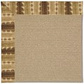 Capel Rugs Creative Concepts Sisal - Java Journey Chestnut (750) Octagon 12