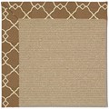 Capel Rugs Creative Concepts Sisal - Arden Chocolate (746) Runner 2