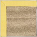 Capel Rugs Creative Concepts Sisal - Canvas Buttercup (127) Rectangle 3' x 5' Area Rug