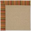 Capel Rugs Creative Concepts Sisal - Tuscan Stripe Adobe (825) Rectangle 3