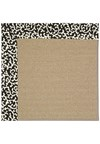 Capel Rugs Creative Concepts Sisal - Coral Cascade Ebony (385) Rectangle 4' x 6' Area Rug