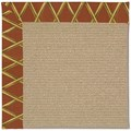 Capel Rugs Creative Concepts Sisal - Bamboo Cinnamon (856) Rectangle 6