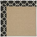 Capel Rugs Creative Concepts Sisal - Arden Black (346) Rectangle 8