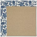 Capel Rugs Creative Concepts Sisal - Batik Indigo (415) Rectangle 8