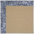 Capel Rugs Creative Concepts Sisal - Paddock Shawl Indigo (475) Rectangle 12