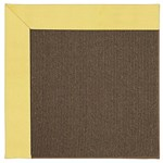Capel Rugs Creative Concepts Java Sisal - Canvas Buttercup (127) Octagon 4' x 4' Area Rug