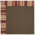 Capel Rugs Creative Concepts Java Sisal - Java Journey Henna (580) Octagon 4
