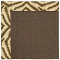 Capel Rugs Creative Concepts Java Sisal - Couture King Chestnut (756) Octagon 10