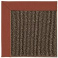 Capel Rugs Creative Concepts Java Sisal - Canvas Brick (850) Octagon 10