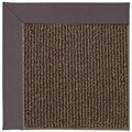 Capel Rugs Creative Concepts Java Sisal - Fife Plum (470) Octagon 12