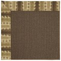 Capel Rugs Creative Concepts Java Sisal - Java Journey Chestnut (750) Octagon 12