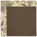 Capel Rugs Creative Concepts Java Sisal - Cayo Vista Graphic (315) Runner 2