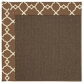 Capel Rugs Creative Concepts Java Sisal - Arden Chocolate (746) Runner 2