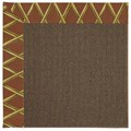 Capel Rugs Creative Concepts Java Sisal - Bamboo Cinnamon (856) Rectangle 6