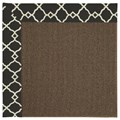 Capel Rugs Creative Concepts Java Sisal - Arden Black (346) Rectangle 8