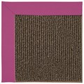 Capel Rugs Creative Concepts Java Sisal - Canvas Hot Pink (515) Rectangle 8