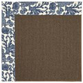 Capel Rugs Creative Concepts Java Sisal - Batik Indigo (415) Rectangle 8
