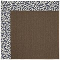 Capel Rugs Creative Concepts Java Sisal - Coral Cascade Navy (450) Rectangle 9