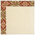 Capel Rugs Creative Concepts Sugar Mountain - Shoreham Brick (800) Octagon 6