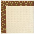 Capel Rugs Creative Concepts Sugar Mountain - Bamboo Cinnamon (856) Octagon 8
